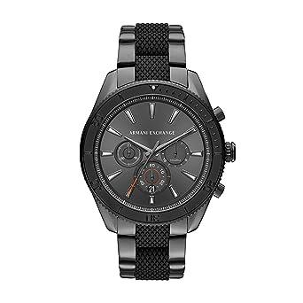 3c09ad2690dc Armani Exchange Reloj Analogico para Hombre de Cuarzo con Correa en Acero  Inoxidable AX1816  Amazon.es  Relojes