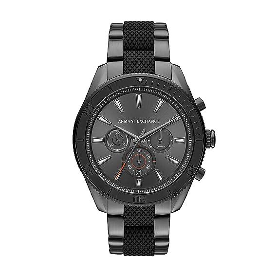 Armani Exchange Reloj Analogico para Hombre de Cuarzo con Correa en Acero Inoxidable AX1816