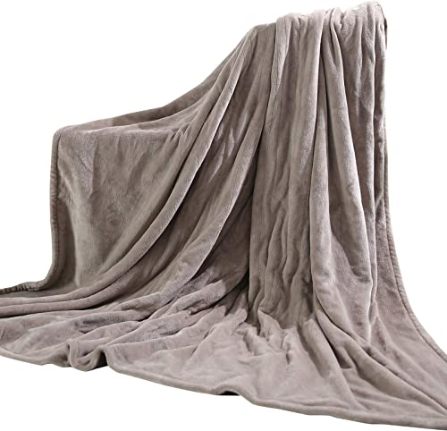MaxKare Electric Blanket Heated Throw 72″ x 84″ Oversized Flannel Heated Blanket
