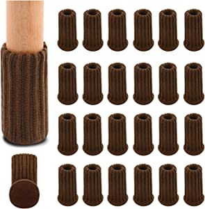 Chair Leg Socks, 36 PCs Chair Leg Socks, Chair Leg Floor Protectors with Anti-Slip Furniture Pads Elastic Thick Bottom Coffee Furniture Booties Furniture Socks Covers Set