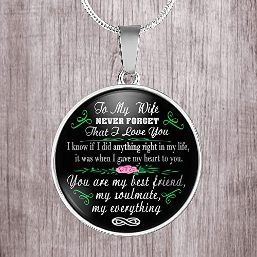 Amazon.com: To my wife. my soulmate never forget that I love ...