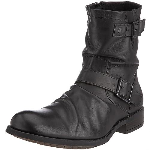 Base London Metal KY02010 - Botas de Cuero para Hombre, Color Negro, Talla 41: Amazon.es: Zapatos y complementos