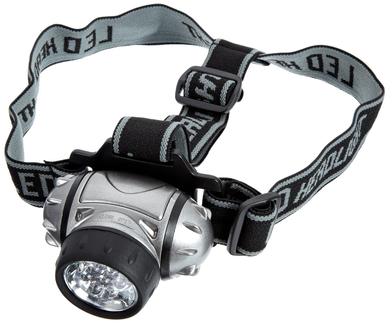 Technoline Headlight - Linterna de minero, color plateado y negro