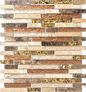 Mosaico piastrelle vetro mix di rete pietra naturale mosaico with mosaico per cucina - Mosaico per cucina ...