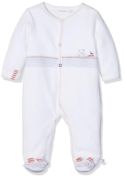 Noukies Z731132, Pelele para Dormir para Bebés, (Blanc), 3-6 (Tallas De Fabricante: 6 Meses): Amazon.es: Ropa y accesorios
