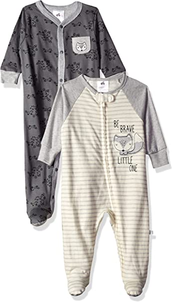 Gerber Baby Boys 2-Pack Organic Sleep N Play