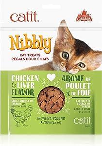 Catit Nibbly, Baked, Non Greasy Cat Treats