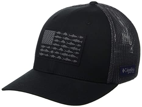 a5d72eb102b65 Amazon.com  Columbia Unisex Fish Flag Ball Cap