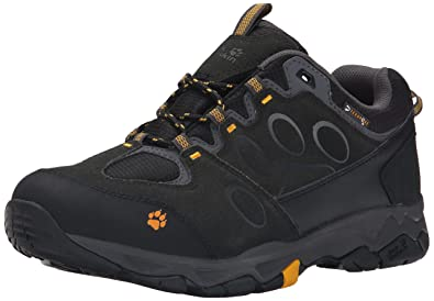 7abfe355 Jack Wolfskin Men's MTN Attack 5 Texapore Low M Boot, Burly Yellow, ...