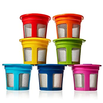 GoodCups Rainbow 7 packs Reusable K-Cup