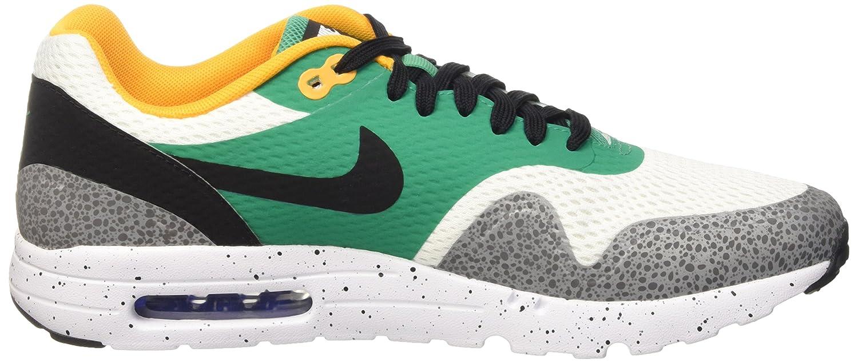 Nike Air Max 1 Ultra Essential WhiteBlackEmerald GreenReflect Silver Schuhe