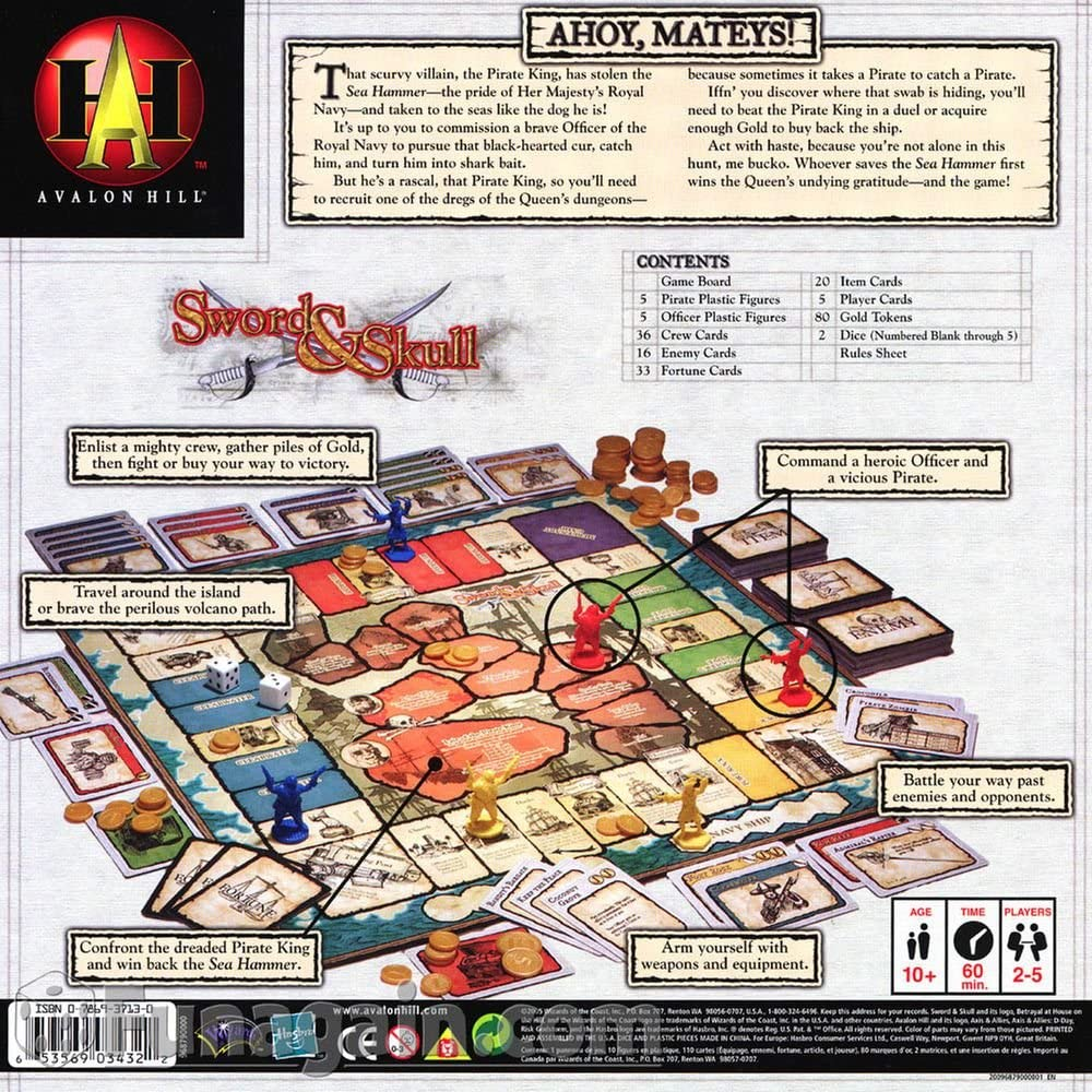 Sword & Skull Board Game: Amazon.es: Juguetes y juegos