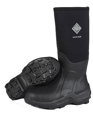 The Original MuckBoots Adult Arctic Sport Boot,Black,7 M US Mens/8 M US Womens