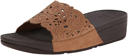 8c84210c21310 fitflop Women's Flora Slide Sandal