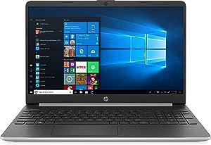 "New HP 15.6"" HD Touchscreen Laptop Intel Core i3-1005G1 8GB DDR4 RAM 128GB SSD HDMI Bluetooth 802.11/b/g/n/ac Windows 10 15-dy1731ms Silver"