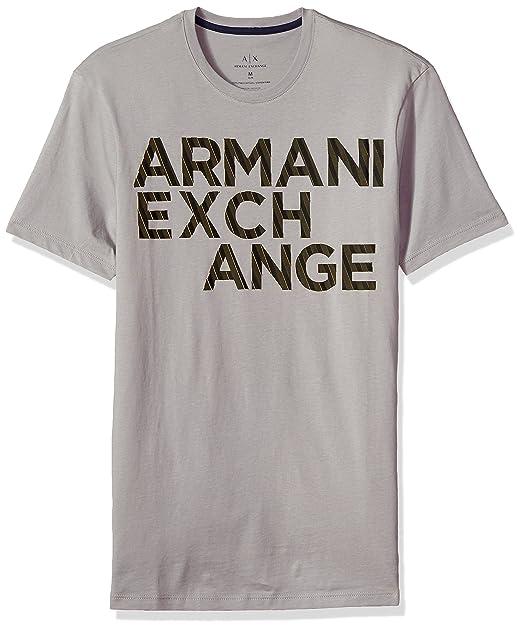 Amazon.com: a|x Armani Exchange de los hombres Rayas Logo ...