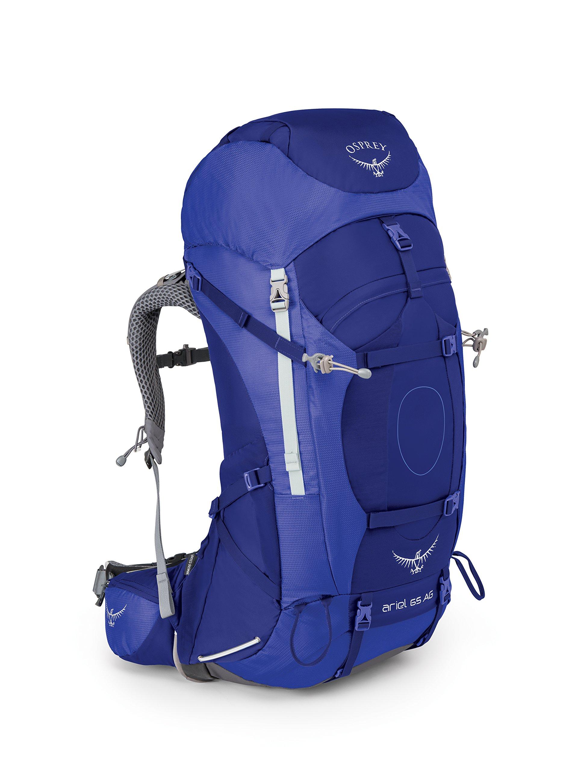 Osprey Packs Women's Ariel AG 65 Backpack, Tidal Blue, Small