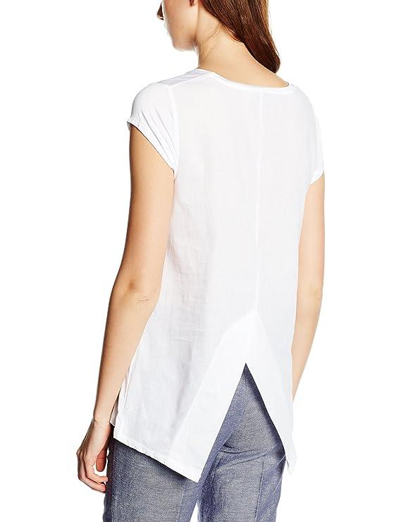 Cortefiel CTA P/P Lazo, Camiseta para Mujer, White, M: Amazon.es: Ropa y accesorios