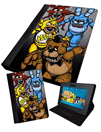 FNAF - Fan Art Four Characters | Printed Tablet Folding Case