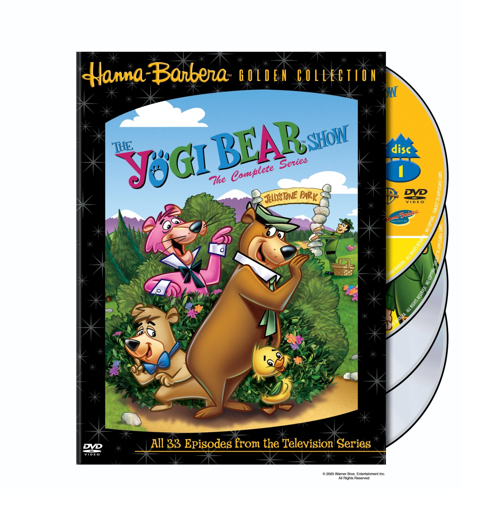 The Yogi Bear Show - The Complete Series by Hanna-Barbera