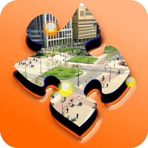 City And Building Jigsaw Puzzle