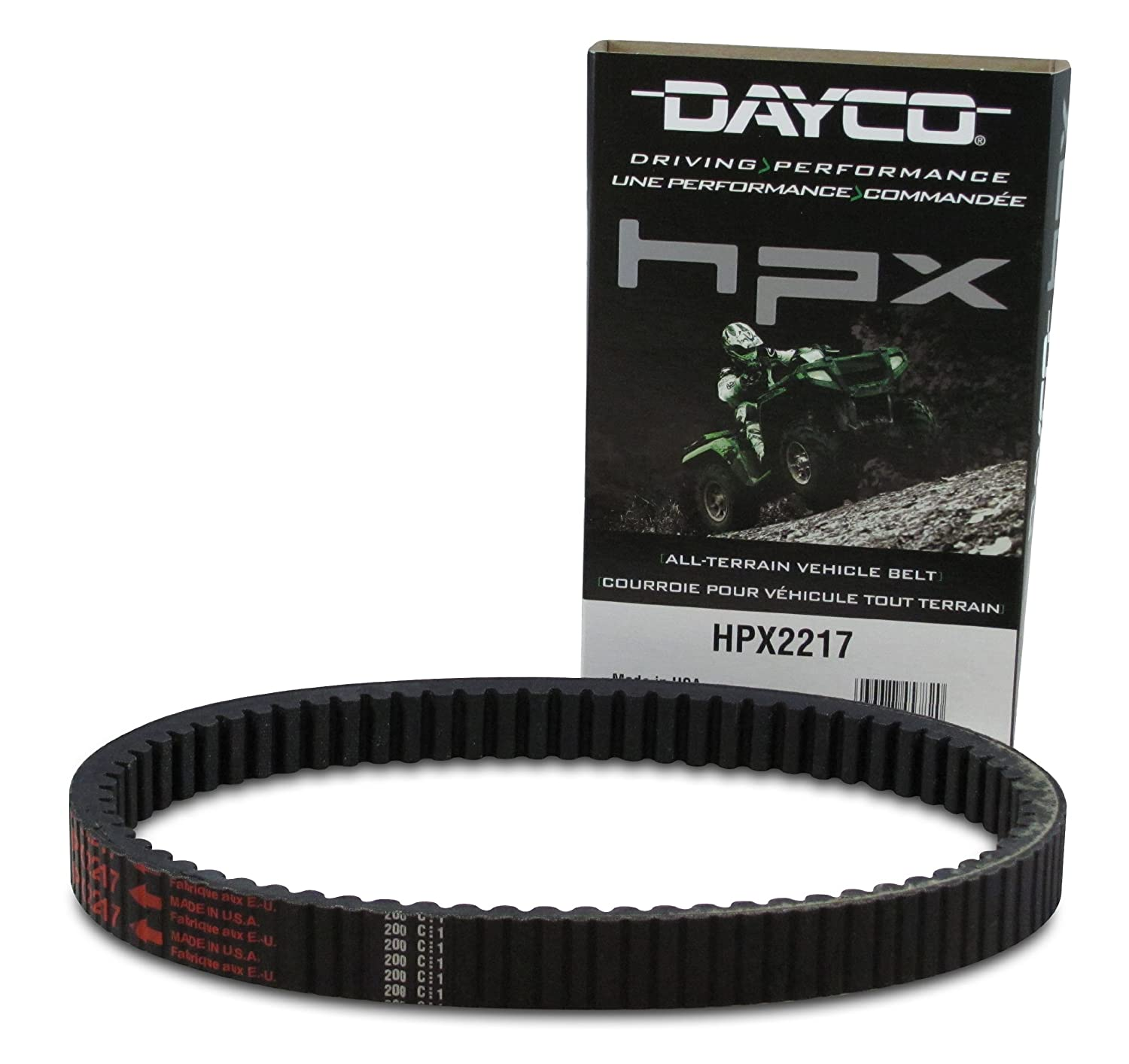 Dayco HPX2217 HPX High Performance Extreme ATV/UTV Drive Belt