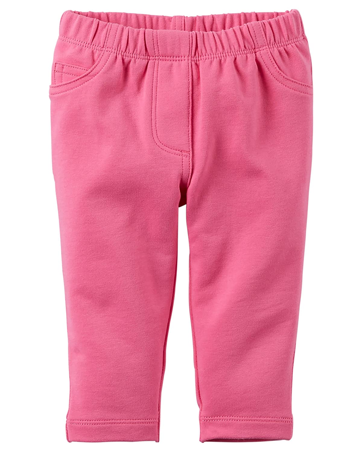 Carters Girl Neon Pink French Terry Pull-On Pants 24 Months