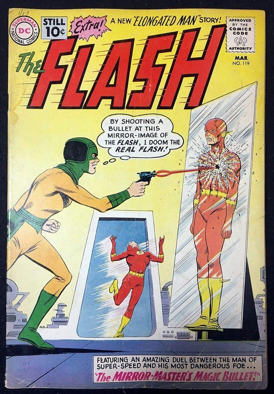 Amazon Com Flash 1959 119 Vg 4 0 Wedding Elongated Man Sue