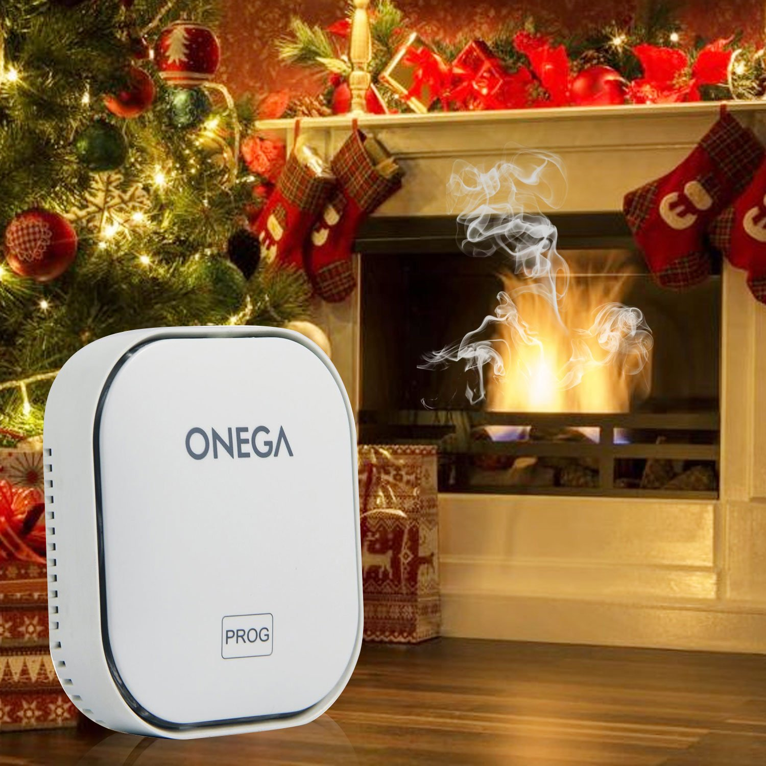 Carbon Monoxide Detector Alarm with Sound Warning and AC Plug-in Operated by Onega (Image #7)