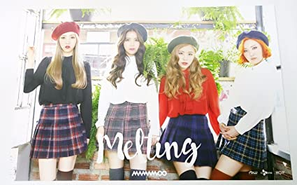 Amazon com: MAMAMOO - MELTING (Vol  1) OFFICIAL POSTER [Type