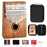 JDR kalimba 17 Keys Thumb Piano,Portable Mbira