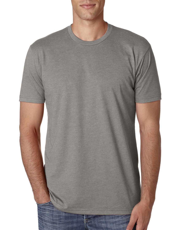 Next Level Apparel メンズ CVC クルーネック ジャージ Tシャツ B014WDCYYA 4L|ストーングレー ストーングレー 4L