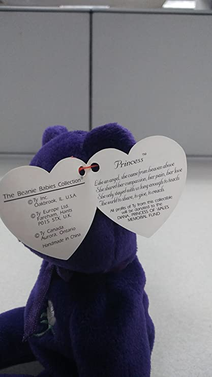 Amazon.com   Original 1997 Commemorative Princess Diana Beanie Baby ... d2e80a3f45c