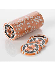 Squirrel Poker 15G Poker Chips - Design Poker Club 15G Poker Chips Colour = Orange , Value = $5000