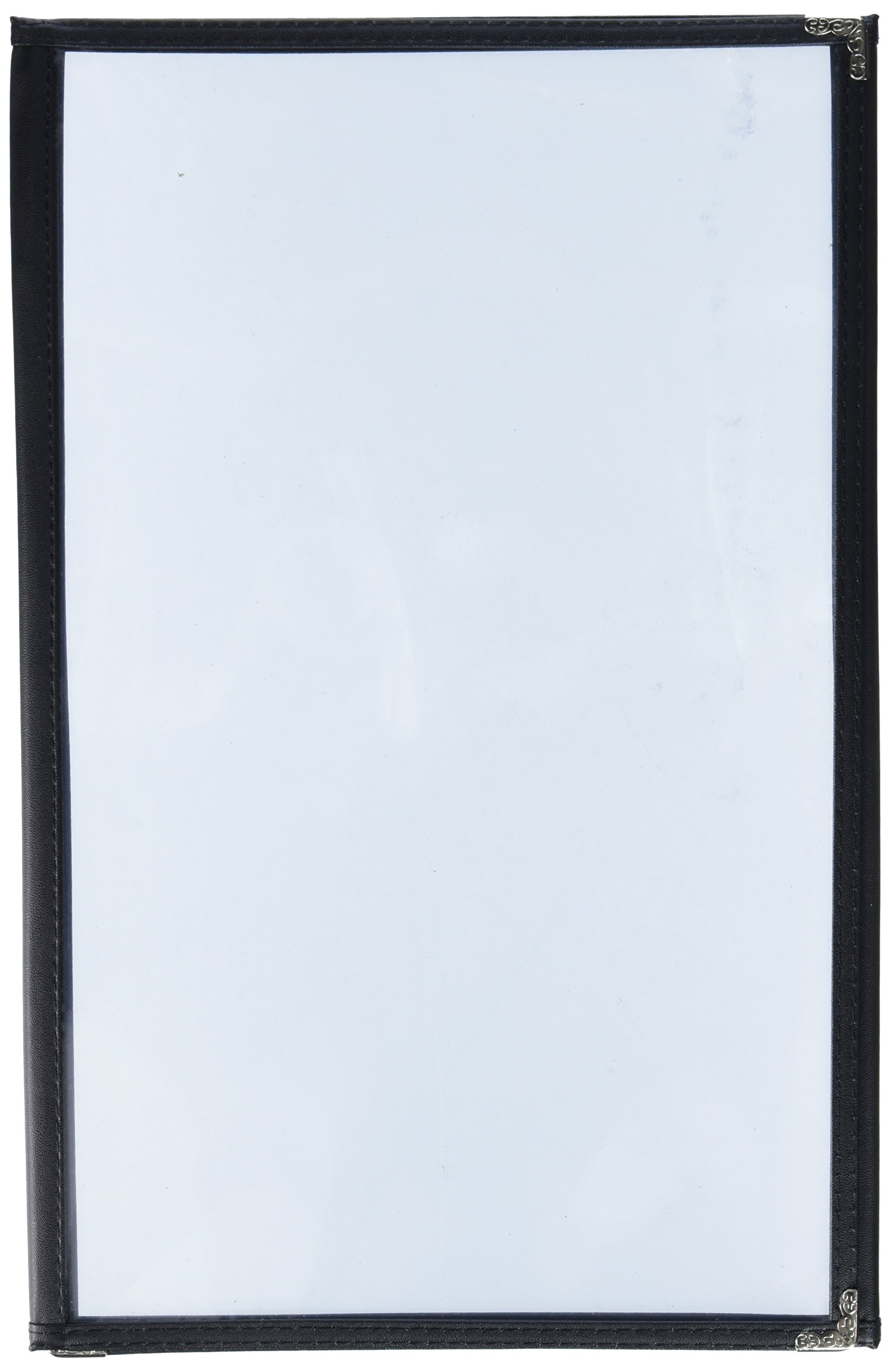Displays2go TPCMUFDR14 Tri-Fold Menu Covers (Set of 10), 8.5 x 14''