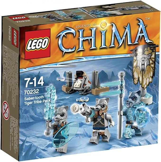 70232 LEGO Legends of Chima Säbelzahntigerstamm-Set