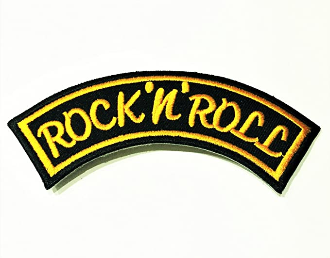 Rock N Roll Embroidered Giant XL Vest Rocker Back Patch Backpatch 13