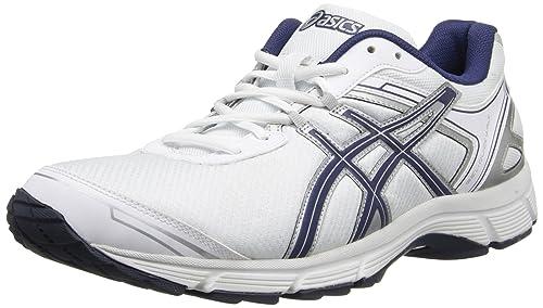 221184a734042 Amazon.com: ASICS Men's Gel-Quickwalk 2-M, White/Navy/Silver, 10 M ...