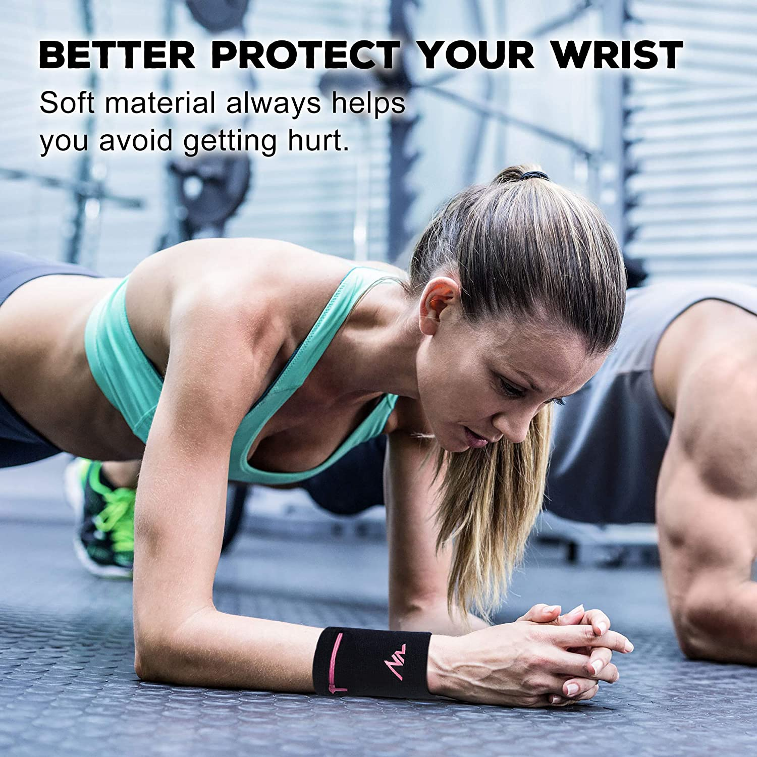 Hiking with Zipper for Running Cross-Fit and More Tennis NEWZILL Wrist Wallet Walking Basketball Wristband
