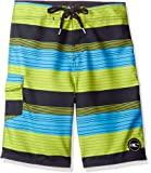 O'Neill Boys' Santa Cruz Stripe Boardshort