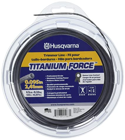 Most Economical and Best for Heavy Weeds - Husqvarna Titanium Force String Trimmer Lines