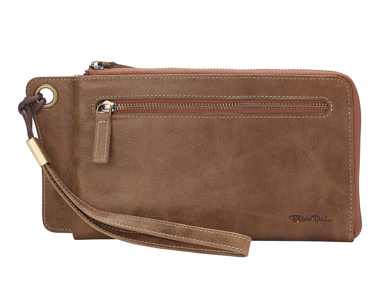 BISON DENIM Genuine Leather...