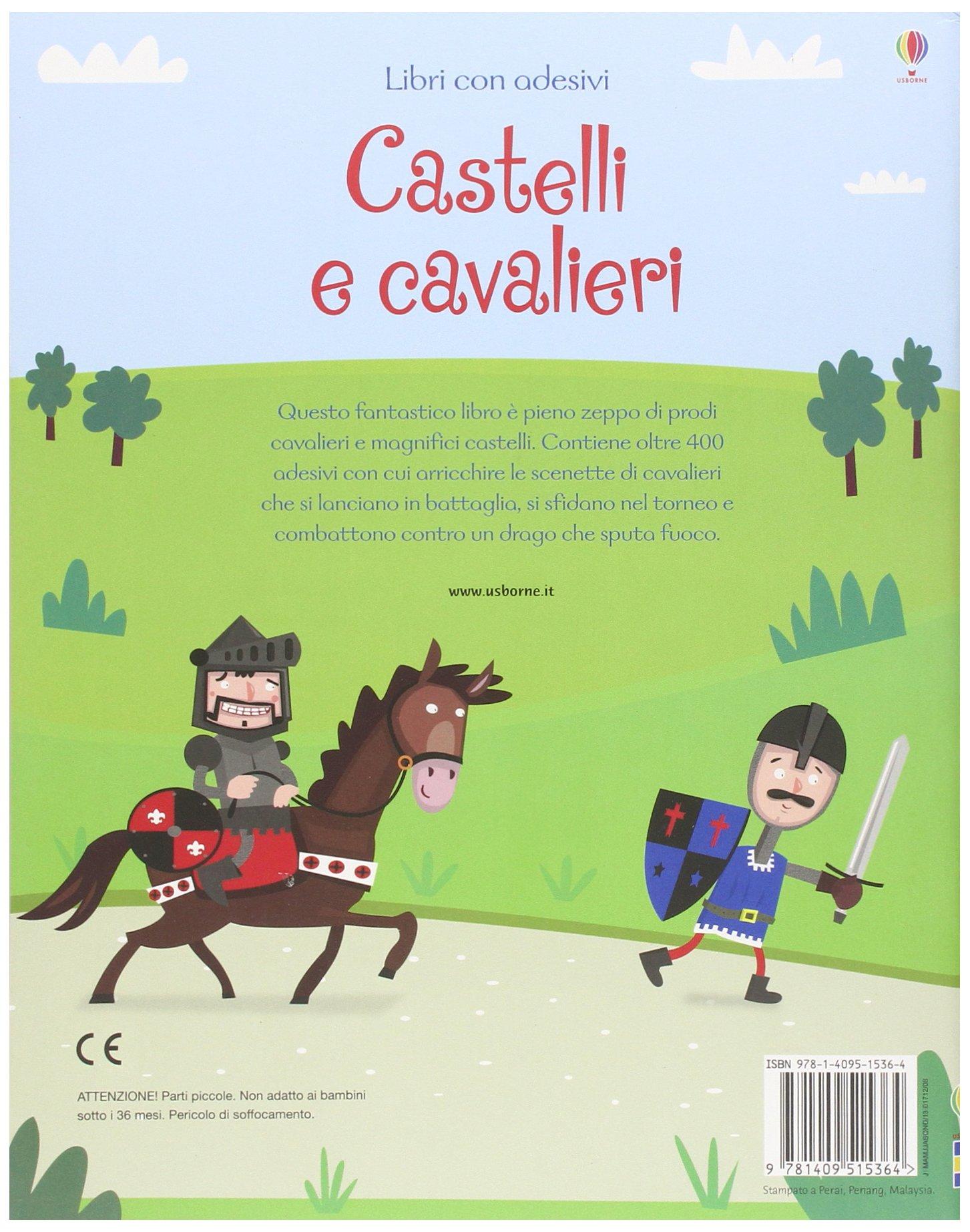 castelli e cavalieri  Castelli e cavalieri. Ediz. illustrata: : Leonie Pratt ...