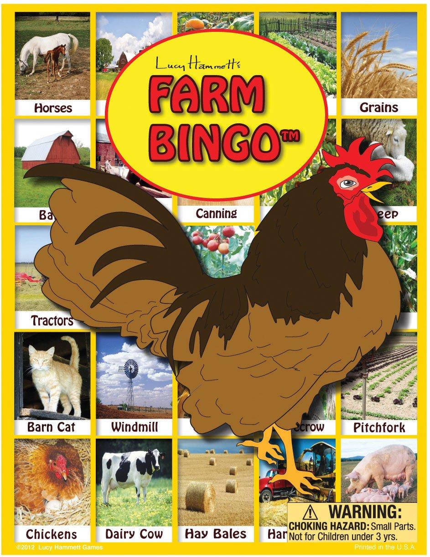 Lucy Hammet Juegos de Bingo Bingo LH9877 Granja