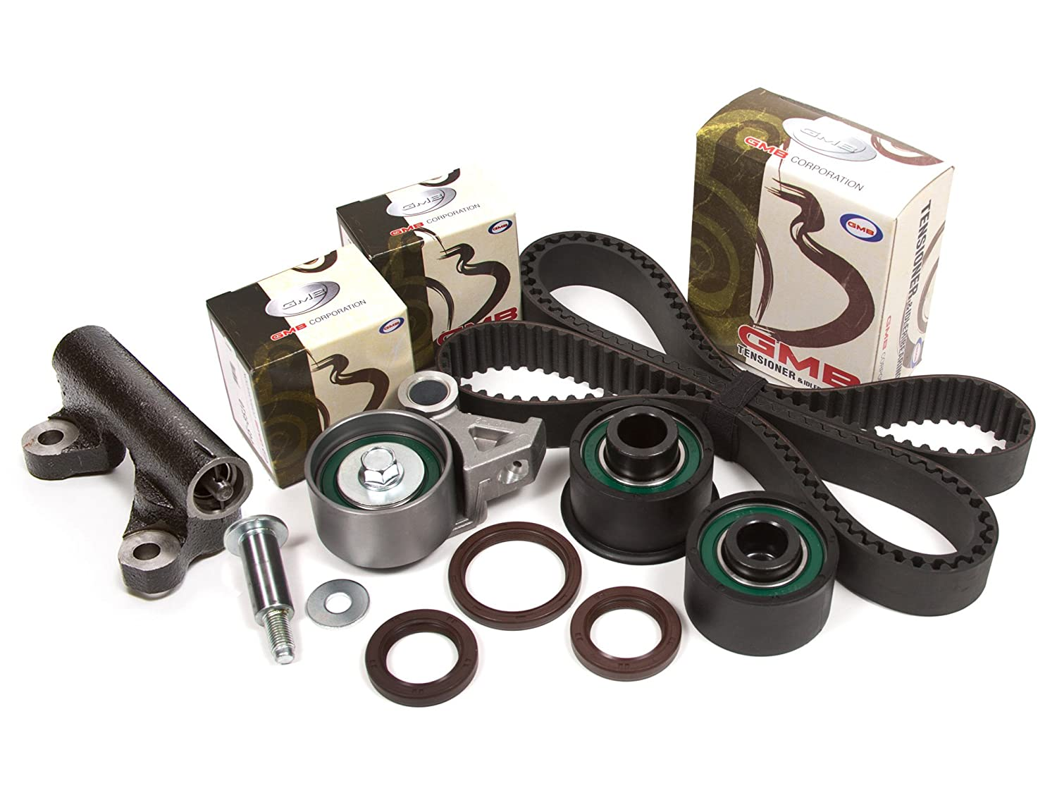 Evergreen TBK214H Fits 92-02 Mazda 626 MX-6 Ford 1.8L 2.5L DOHC V6 Timing Belt Kit