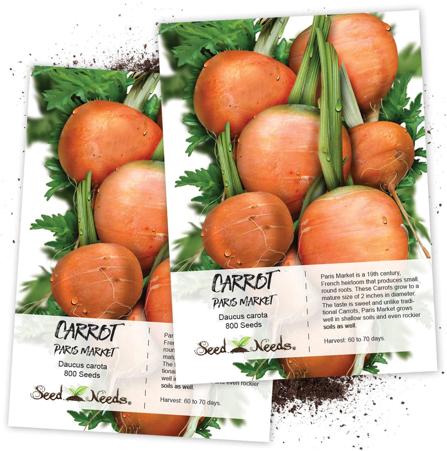seeds carrot « Market Paris » 1200 Seeds