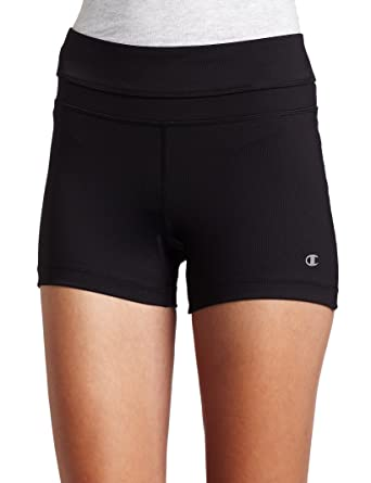 Women's Shape Active Tru Compression Workout Shorts Black