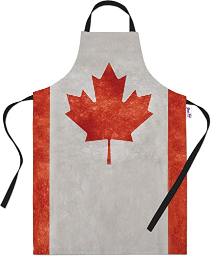 Funny Novelty Apron Kitchen Cooking Made In Canada