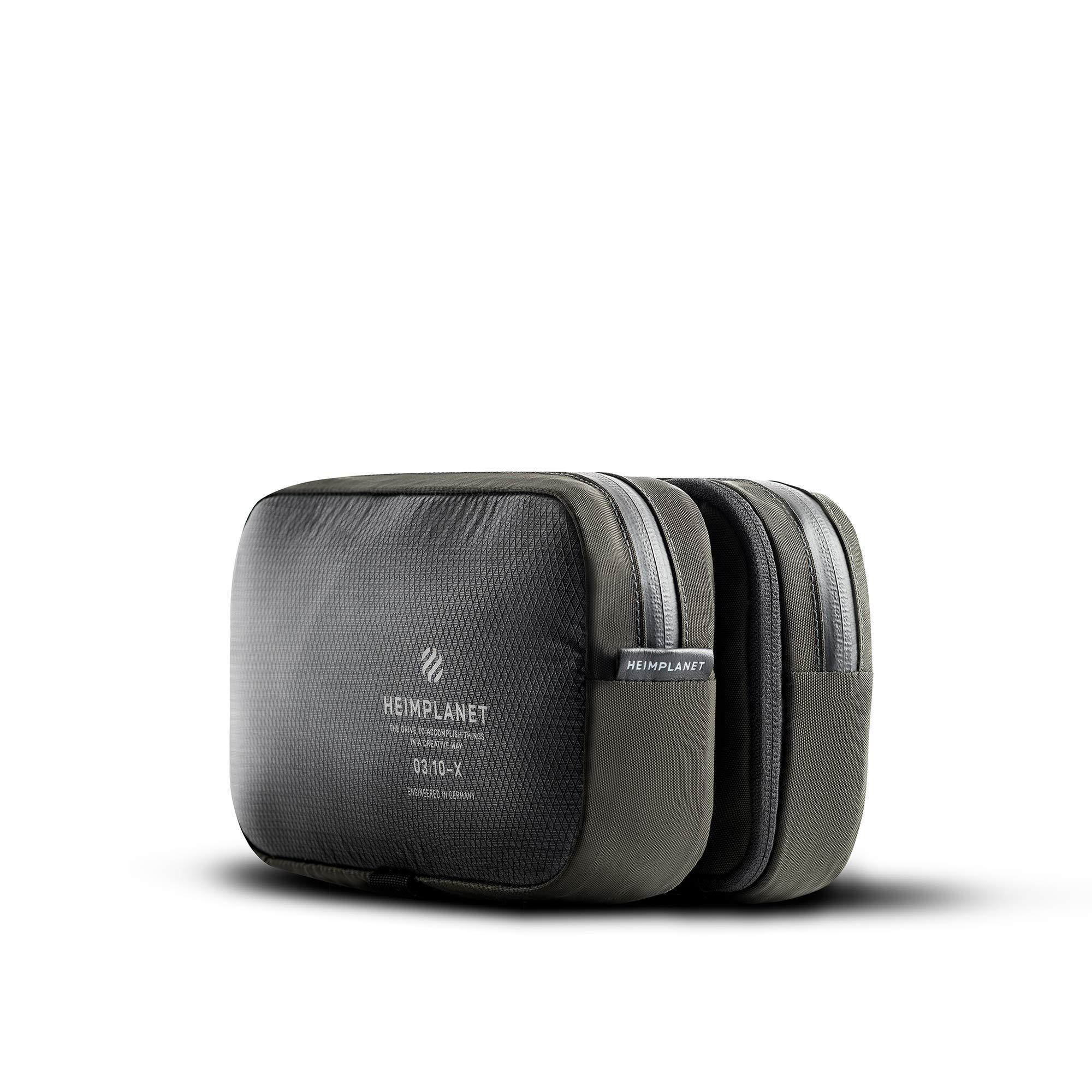 Heimplanet Original | Motion Dopp Kit - Hanging Toiletry Bag | Pvc-Free Travel Wash Bag by HEIMPLANET