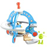 Hape Wooden UFO Playset with Friendly Alien and Accessories